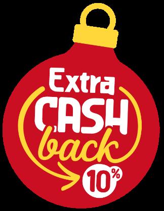 Extra Cashback 10%